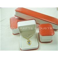 GRT series leatherette wrapping jewelry box