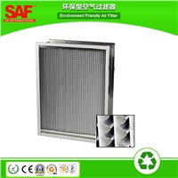 Glass Fiber Heat Resistant HEPA Filter