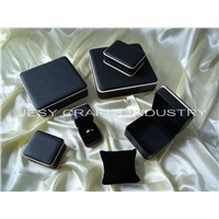 RD black/white pu collection jewelry box
