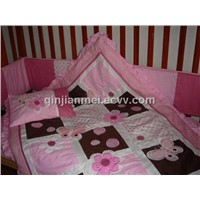 Embroider Children Baby Duvet Set