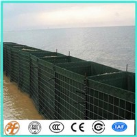 factory supply sand filled gabion hesco blast wall