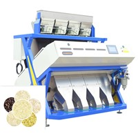 Latest 256 Channels Rice and Grain Color Sorter