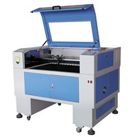 DT-9060 model laser engraving machine for advertisement work