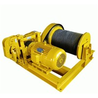 JM Model 1~65ton Electric Winch For Workshop