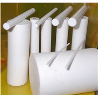 100% virgin Solid round PTFE  rod/stick
