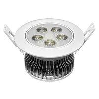 5w led smd indoor downlight