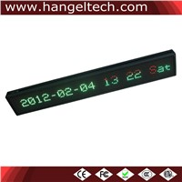 16x128 Pixels P7.62 LED Scrolling Sign Programmable Message Board