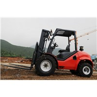 4 wheel drive rough terrain forklift