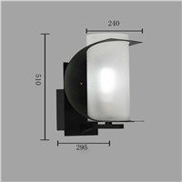 modern new arrivals outdoor aluminum wall light exterior LED wall lamp