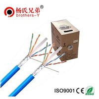 Cat 6 Type and 8 Number of Conductors network cable roll cat6
