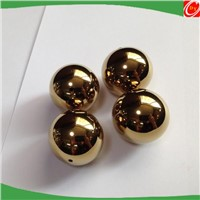 Golden plated Steel Ball