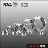Stainless Steel Pipe Fittings Sanitary SMS Union Set (JN-UN1001)