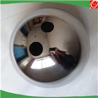 drilling hollow shiny polished stainless steel ball