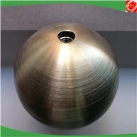 metal sphere brushed stainless steel decoration ball