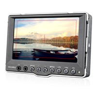 Newest product 5 inch 800*480 SDI HD Field Monitor Aluminum Peaking Focus Red-outline
