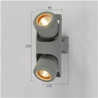 good quality IP 54 aluminum wall light outdoor LED wall lamp