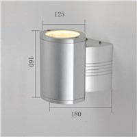 whole sale IP54 waterproof wall light aluminum outdoor LED wall lamp