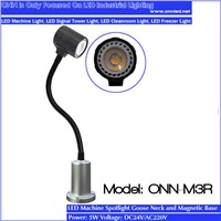 ONN M3R gooseneck lamp magnetic base