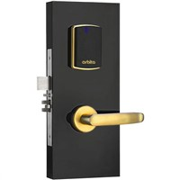 Orbita gold color ANSI standard mortise Split RF card hotel lock S3172H