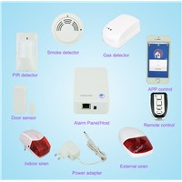 Truly plug & play cloud IP home alarm Finseen FC-300