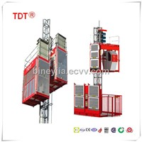 construction equipment SC100/200/270/320 building hoist by china manufacturers