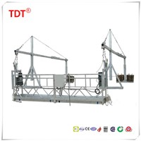 hanging baskets zlp300 suspended platform cleaning machines