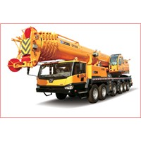 160T/160000KG Capacity Truck Crane With Hydraulic Power
