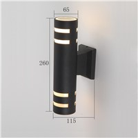 2015 new design LED outdoor wall light aluminum up and down wall lamp