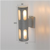 good quality IP 54 waterproof outdoor wall light aluminum wall lamp