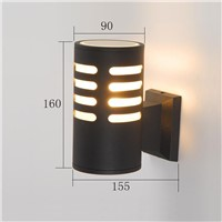 Modern design  outdoor wall light IP 54 exterior led wall lights waterproof wall lamp