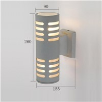 China manufacturer aluminum outdoor wall light  up and down lamp