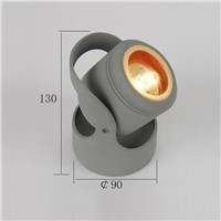 aluminum outdoor wall lighting IP 54 exterior LED wall lamp