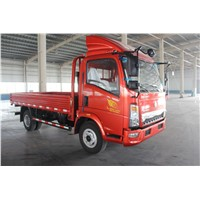 Sinotruck 4x2 vans truck  with humanization designing  for different countries