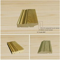solid wood/ MDF skirting board