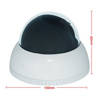 130 Degree Fisheye IP Camera 1.3 Megapixel High sensitivity CMOS sensor Ti365 DSP fisheye camera