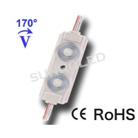 White 2835 led injection module with lens