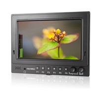 "7""1024*600 3G-SDI HDMI Pro-Broadcast HD LCD Monitor with Embedded Audio"