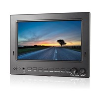 "7""1024*600 HDMI SDI Clear full functionality high resolution Pro-Broadcast HD LCD Monitor(ST702-HSD)"