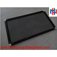 DIY aluminum alloy fiberglass window screen