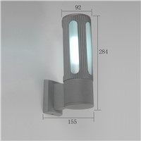 2015 top sale LED outdoor wall light aluminum exterior wall lamp