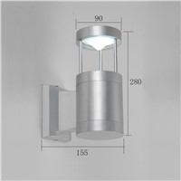 modern LED wall light aluminum outdoor wall lamp