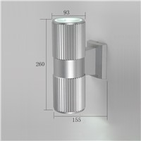 high quality outdoor wall light LED aluminum exterior wall lamp