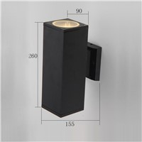waterproof outdoor wall light up and down LED aluminum wall lamp