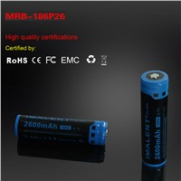 IMALENT MRB-186P26 2600mAh 18650 rechargeable Li-on battery