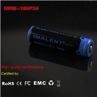 IMALENT MRB-186P34 3400mAh 18650 rechargeable Li-on battery