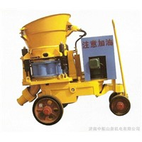 2015 PZ series small shotcrete machine/pulp shooting machine/cement mortar spraying machine