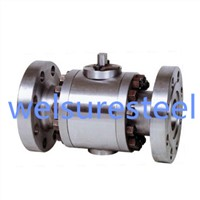 3 Pieces Flanged Forged Ball Valve