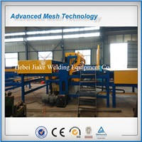 PLC rebar mesh welding machines / steel wire mesh welding machines (JK-RM-2500B)