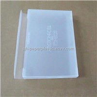 Supply Transparent Plastic Packing  Box/PVC Packing Box Custom Made