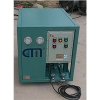 air cooling and water cooling anti-explosive refrigerant recovery machine